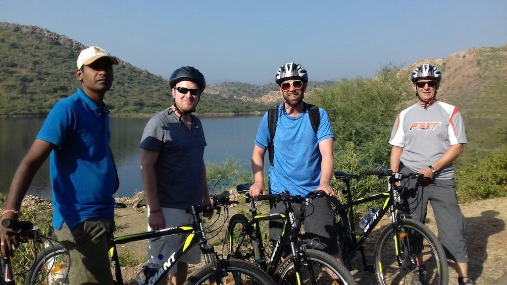 Show item 1 of 6. Private Rural Bicycle tour in Udaipur