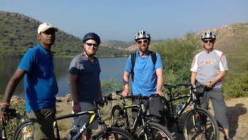 Private Rural Bicycle tour in Udaipur
