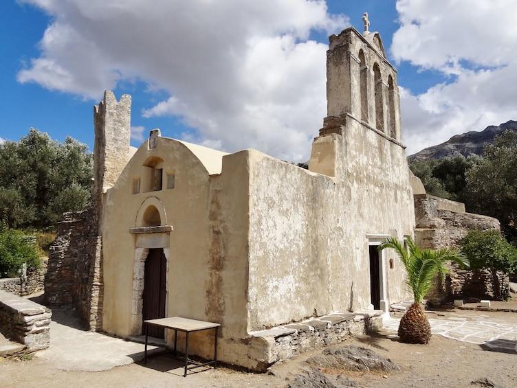 Panagia Drosiani Orthodox church in Greece