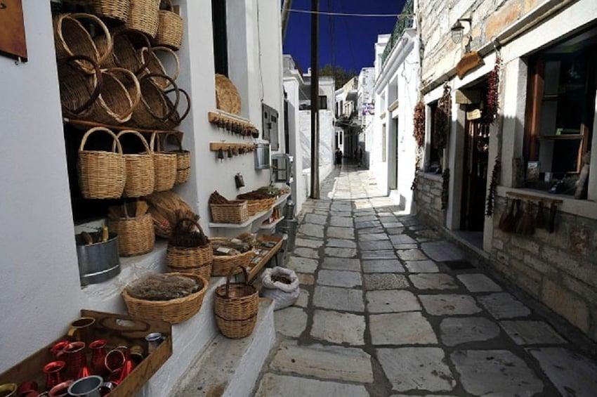 Apeiranthos Village in Naxos, Greece