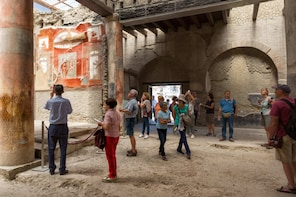 Herculaneum Small Group w/an Archaeologist - Skip the line