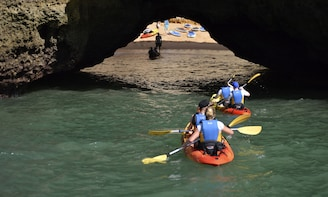 Caves and Kayaks from Albufeira Marina