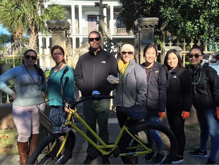 Show item 3 of 5. New Orleans French Quarter & Garden District Combo Bike Tour