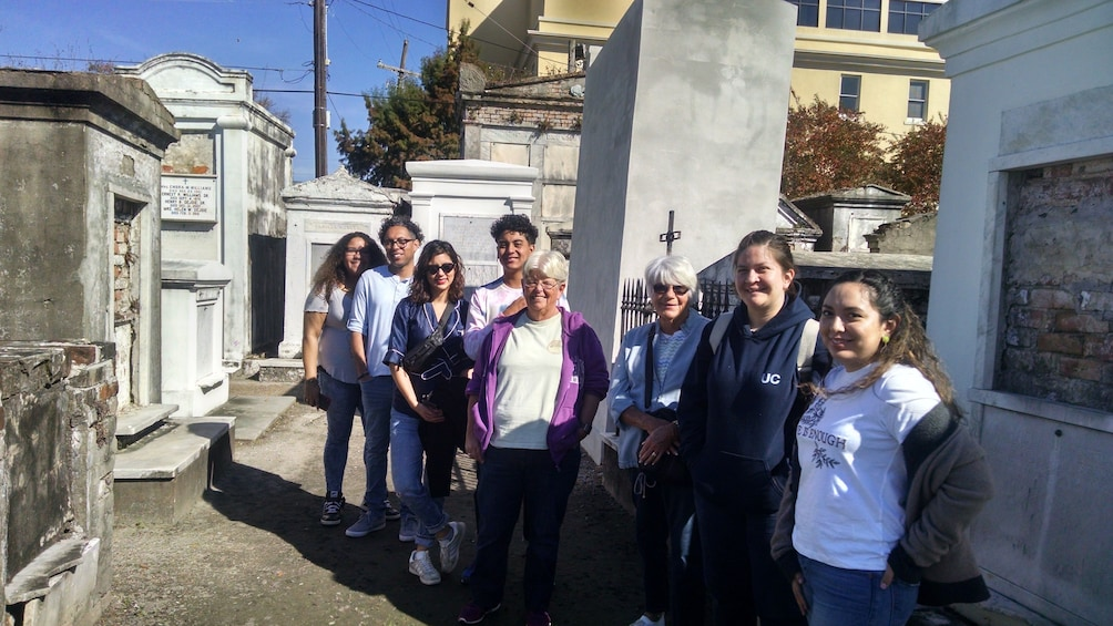 Show item 3 of 3. Every Tomb Tells A Story: St. Louis Cemetery #1 Tour