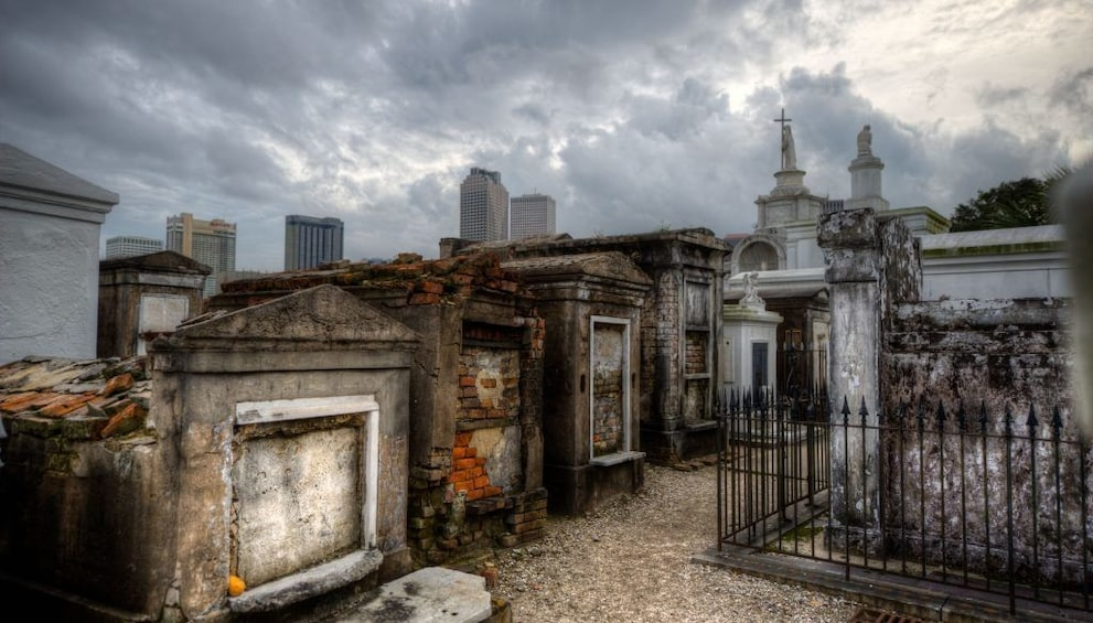 Show item 1 of 3. Every Tomb Tells A Story: St. Louis Cemetery #1 Tour