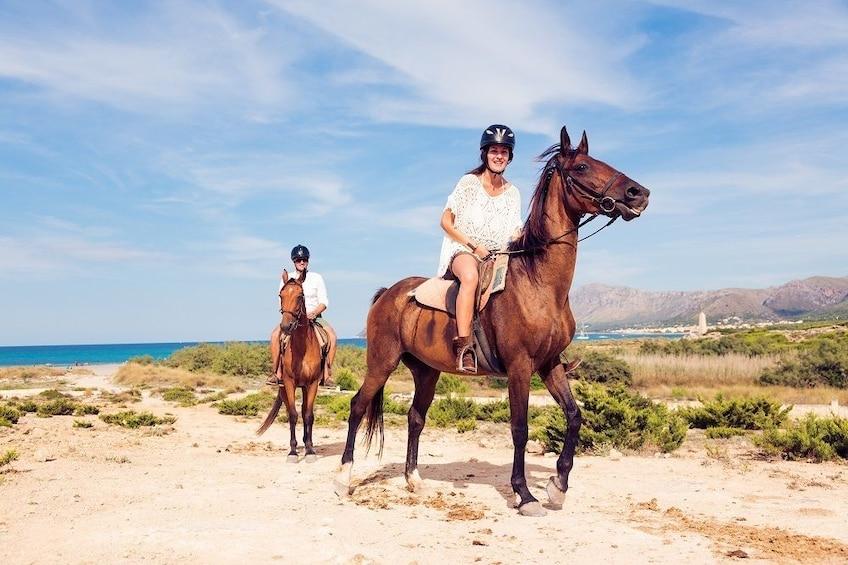 Horse Riding – Evening Ride in Paros