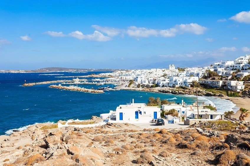 Show item 4 of 5. Daily Cruise from Paros to Delos Mykonos