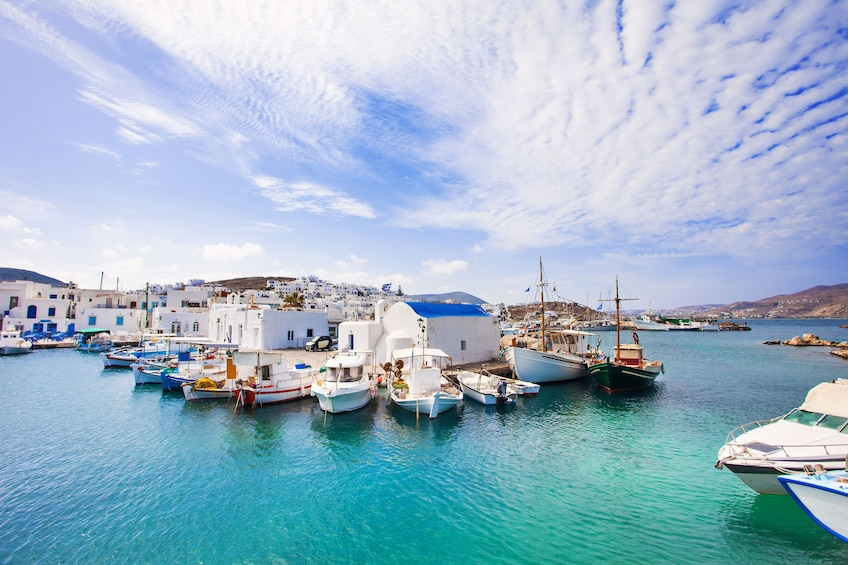 Show item 5 of 5. Daily Cruise from Paros to Delos Mykonos