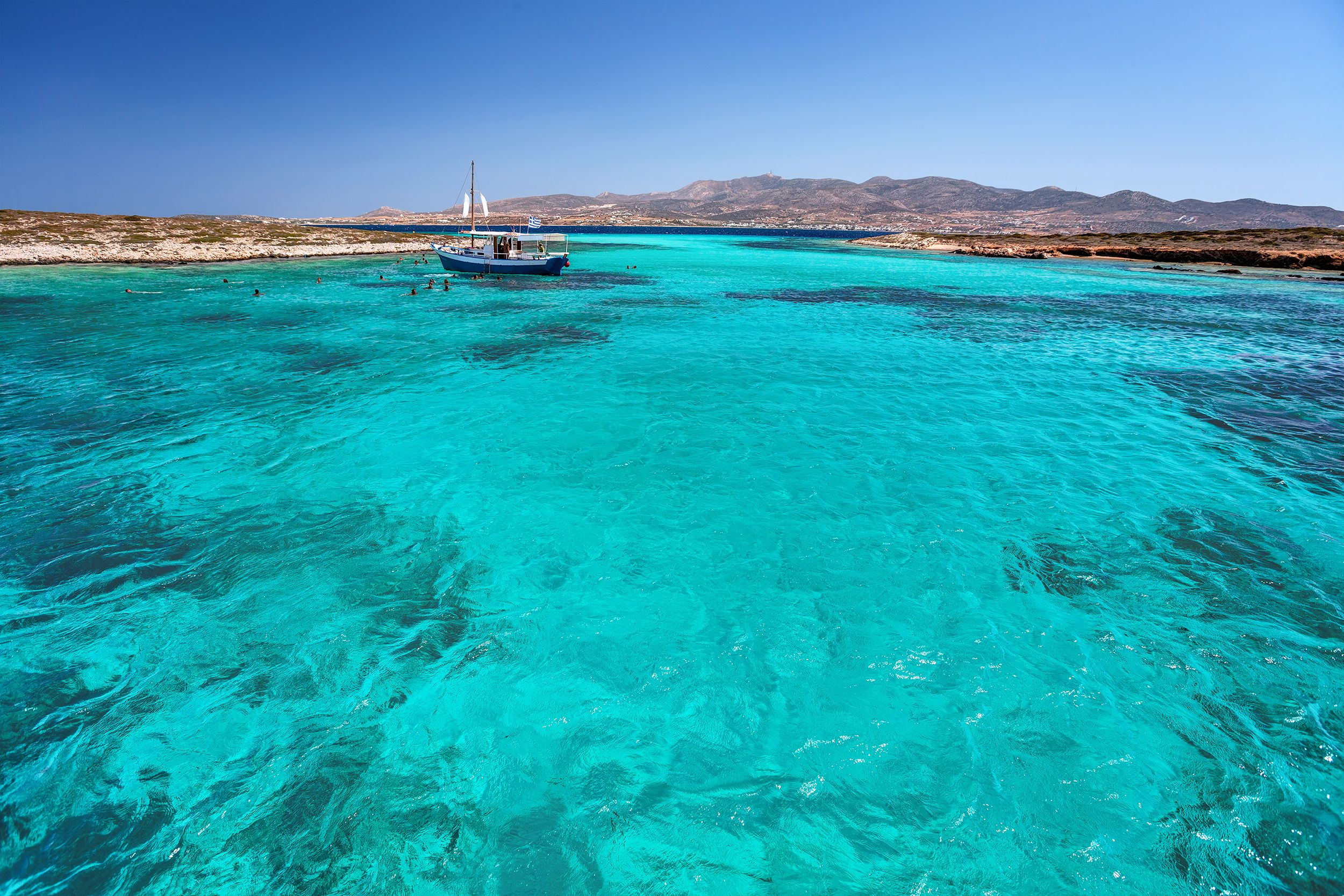Daily Cruise from Paros to Delos Mykonos