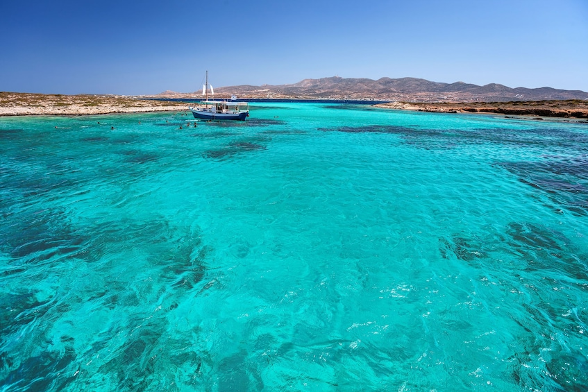 Show item 1 of 5. Daily Cruise from Paros to Delos Mykonos