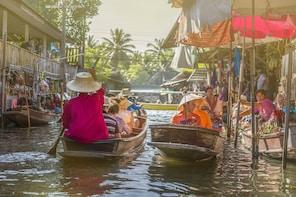 Private Tour: Damnoen Saduak Floating Market & Maeklong Rail