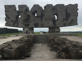 Majdanek Concentration Camp 1 - day Guided Tour from Warsaw