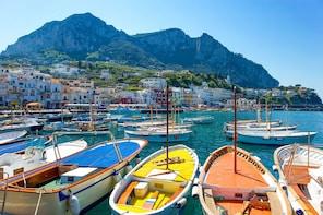 Private Capri Boat Excursion from Naples