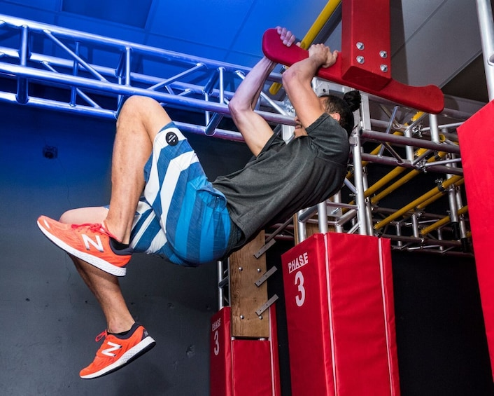 Ninja Warrior Indoor Obstacle Training