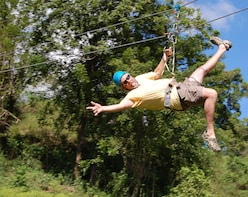 Triple Adventure: Horseback riding, Waterfalls & Zip Lines