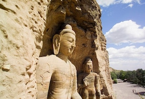 Datong Private Tour of Yungang Grottoes and Huayan Monastery