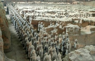 Full Day Terracotta Warriors and Cave Dwellings Tour In Xian