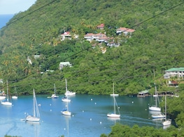 St Lucia Castries to Pitons Tour