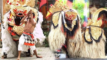 Barong and Trance Keris Dance Show