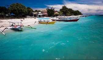 Gili Trawangan Island Full Day trip Departure from Bali