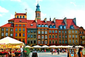 Warsaw Old Town inc. Royal Castle (inside) + POLIN Museum