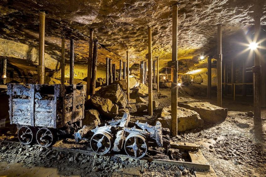 Industrial center & UNESCO silver mine tour 8h