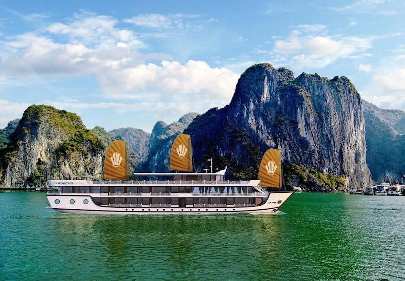 Show item 1 of 8. 2Days-1Night Luxury Halong Bay Regal Cruise from Hanoi