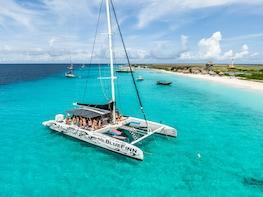 Klein Curacao with Sailing Catamaran