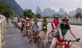 4 Days Guilin-Yangshuo Countryside Bicycle Experience Tour