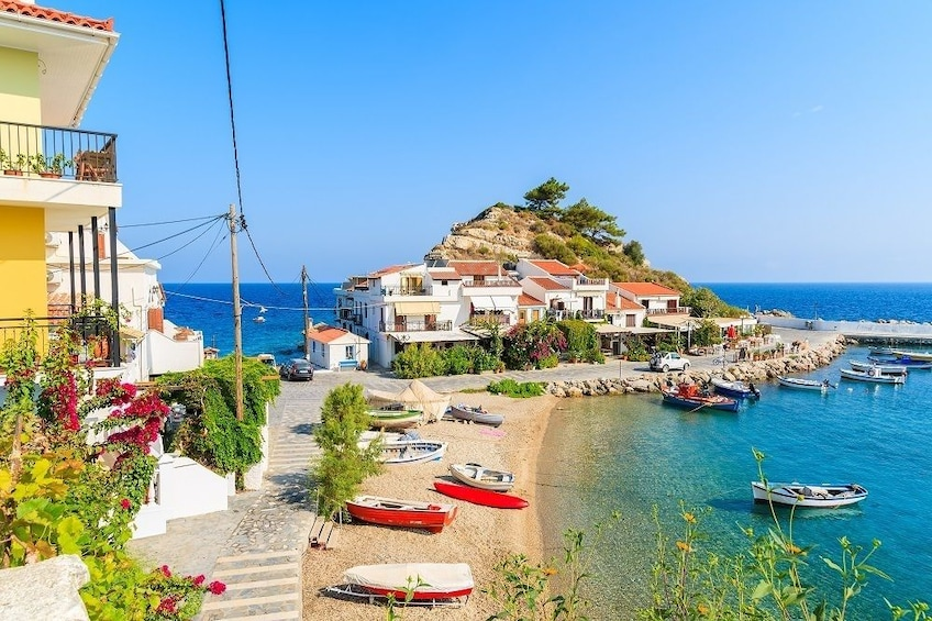 Show item 2 of 5. Full Day Island Tour Discover Samos