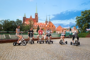 The Classic E-Scooter (3 wheeler) Tour of Wroclaw - 6:30 pm