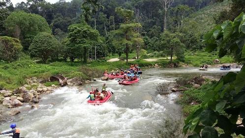 White Water Rafting Adventure Tour From Krabi