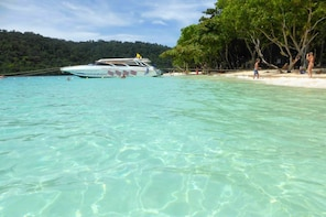 Island Hopping Day Trip to Phi Phi & Bamboo Island by Singthongchai Speed
