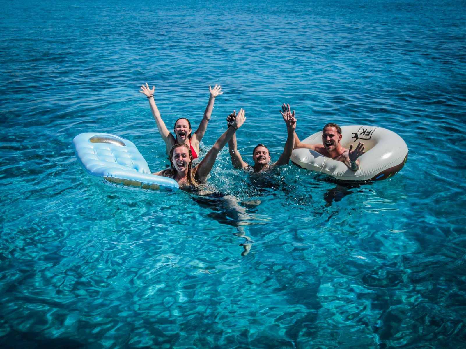 Semi-private day sailing tour to the small cyclades