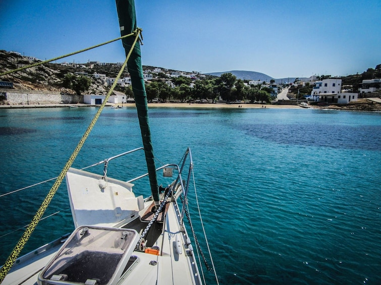 Show item 4 of 10. Semi-private day sailing tour to the small cyclades
