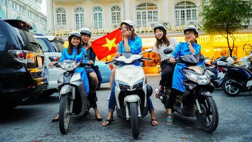 Street Food Tour w/ #GirlPower Scooter Riders of Kiss Tours