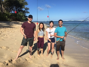 An unforgettable Hawaiian Shoreline Fishing Experience