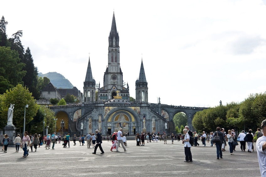 Show item 3 of 9. Sanctuary of Our Lady of Lourdes Guided Tour
