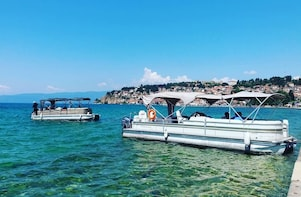 Ohrid city tour with boat drive