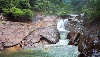 One Day Jungle Trekking at Kong Koi Waterfall, Koh Chang