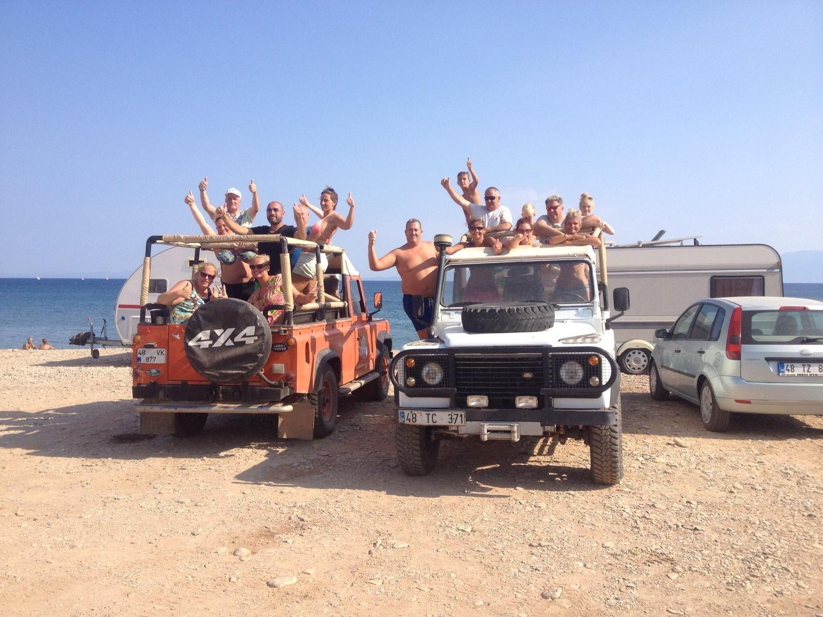 Jeep Safari from Bodrum