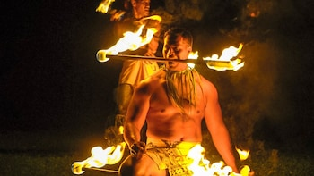 TOA LUAU at Waimea Valley on Oahu's Northshore