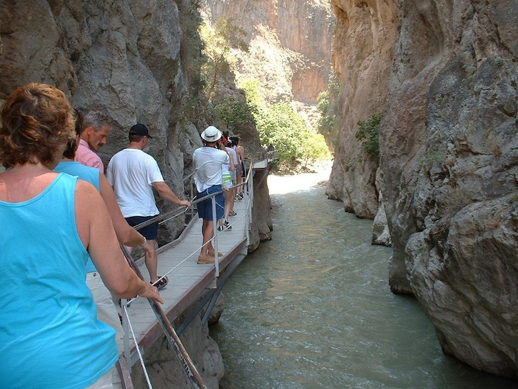 Show item 1 of 7. Saklikent Canyon & Tlos