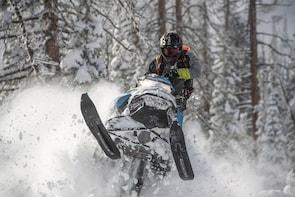 Full Day Utah Backcountry Snowmobile Tour