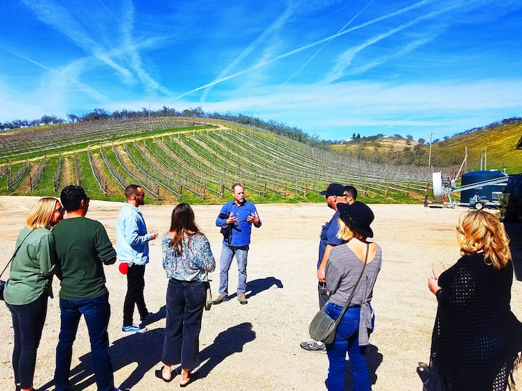 "Show item 1 of 11. ""Toast Together"" Group Wine Tour of Paso Robles Wine Country"
