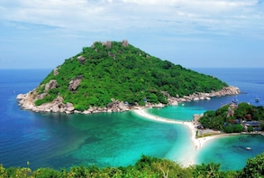Snorkel Tour to Koh Nangyuan & Koh Tao by Speed Boat from Koh Phangan