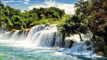 Krka Waterfalls & Skradin from Trogir and Okrug Gornji