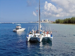 Cozumel Catamaran Sail & Reef Snorkel Adventure