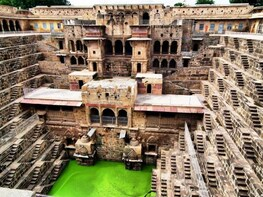Bhangarh Fort & Abhaneri step well same day tour by car