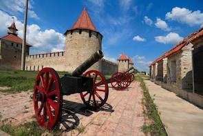 Tiraspol city Transnistria and Cricova Winery Wine tasting